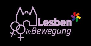 Logo: Lesben in Bewegung