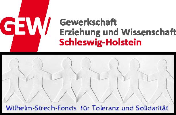 Logo: Wilhelm-Strech-Fonds der GEW Schleswig-Holstein
