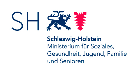Logo: Ministerium für Soziales, Gesundheit, Jugend, Familie und       Senioren