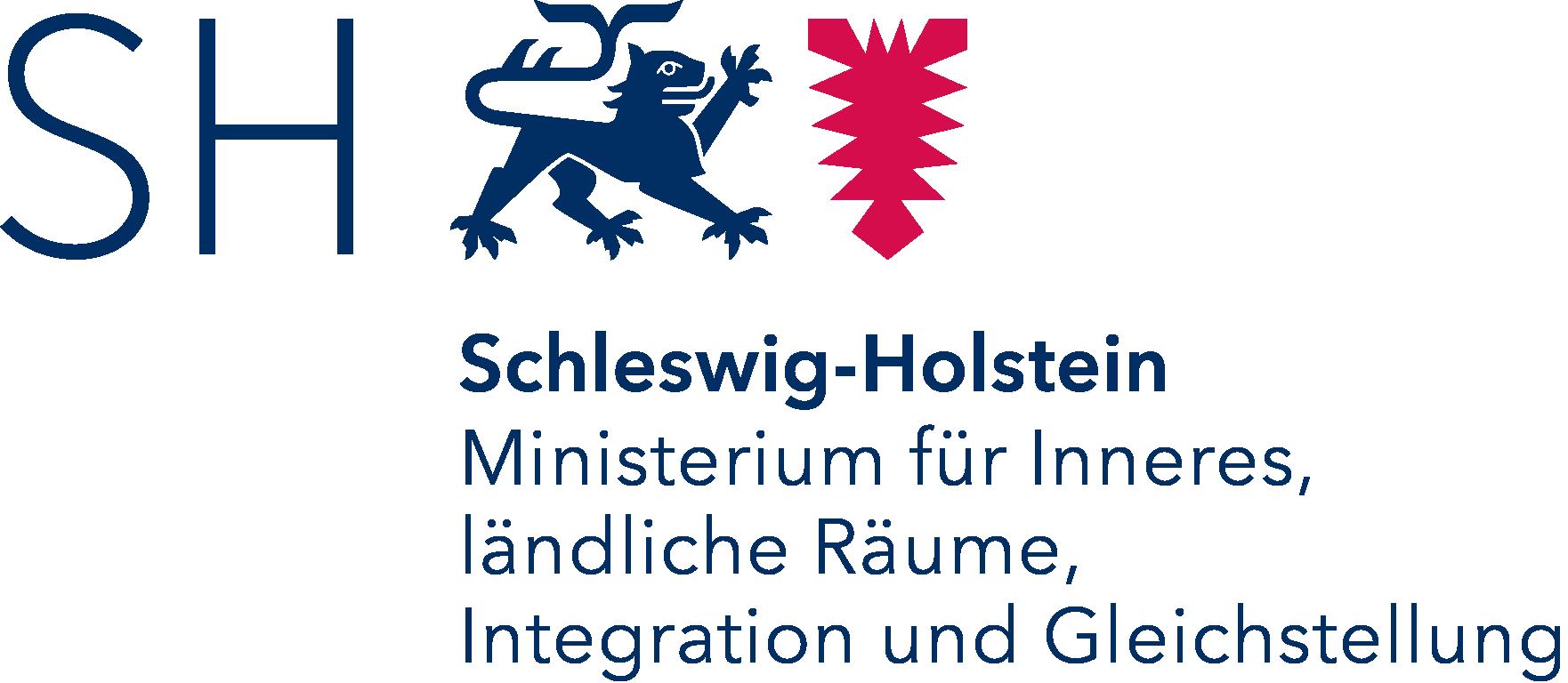 Logo: Ministerium für Inneres, ländliche Räume und Integration